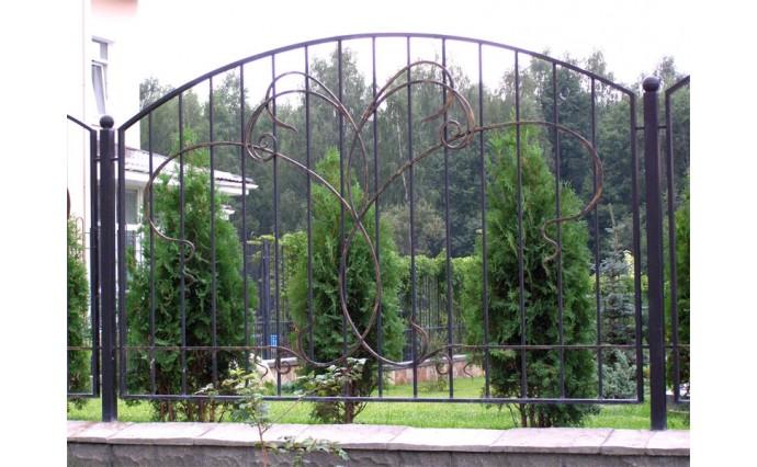 Кованые заборы  - Кованый забор (Арт.: z015)