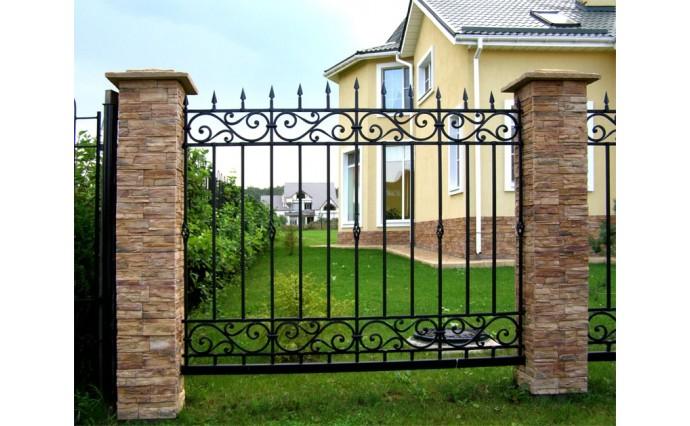 Кованые заборы  - Кованый забор (Арт.: z008)
