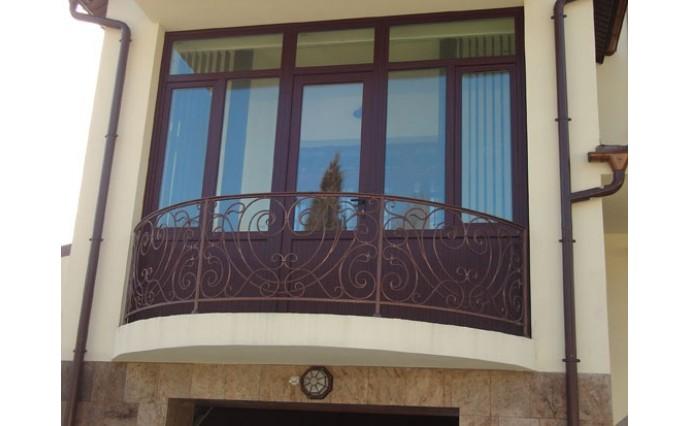 Кованый балкон - Кованый балкон №60