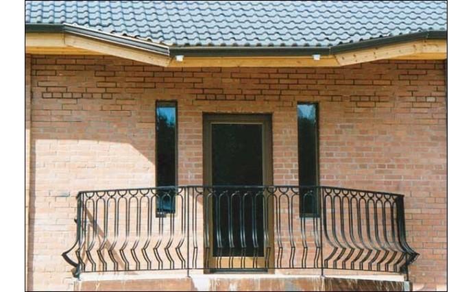 Кованый балкон - Кованый балкон №17