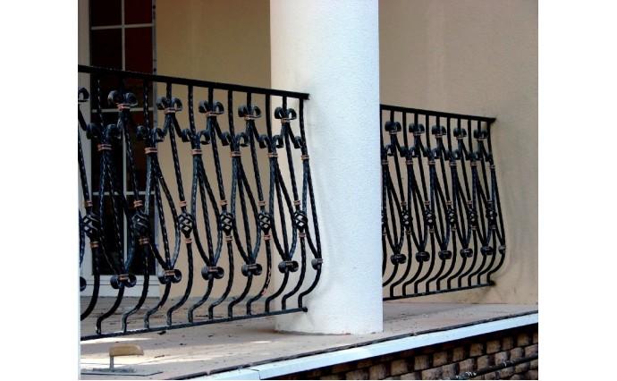 Кованый балкон - Кованый балкон №27