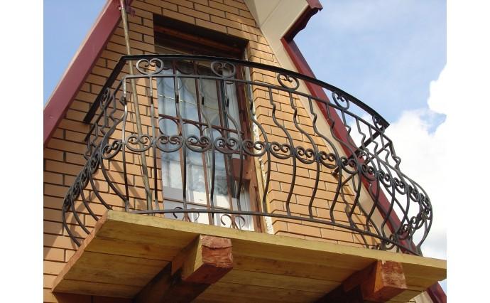 Кованый балкон - Кованый балкон №10