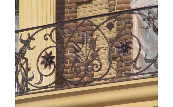 Кованый балкон - Кованый балкон №38