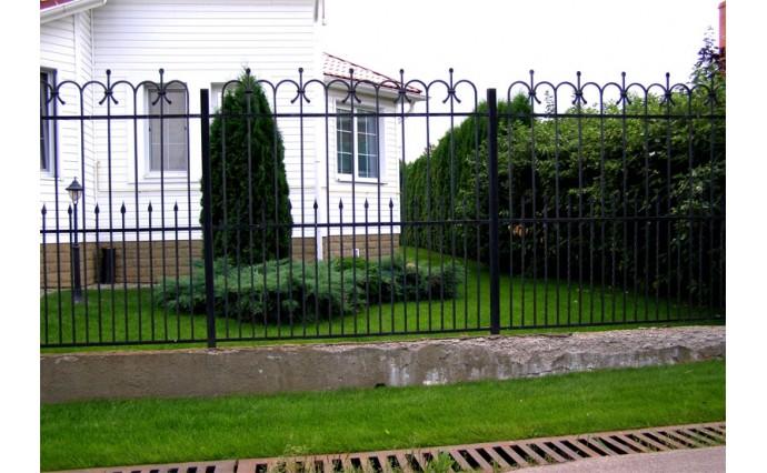 Кованые заборы  - Кованый забор (Арт.: z017)