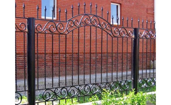 Кованые заборы  - Кованый забор (Арт.: z009)