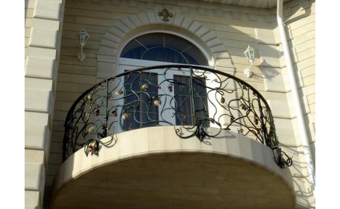 Кованый балкон - Кованый балкон №61