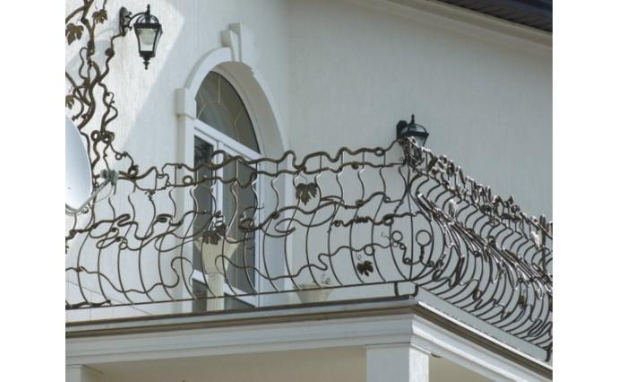 Кованый балкон - Кованый балкон №34