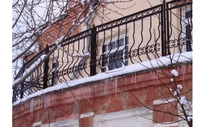 Кованый балкон - Кованый балкон №15