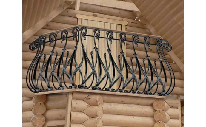 Кованый балкон - Кованый балкон №28