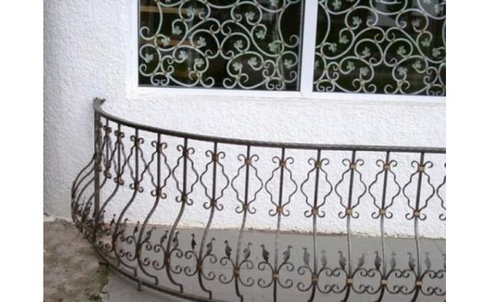 Кованый балкон - Кованый балкон №4