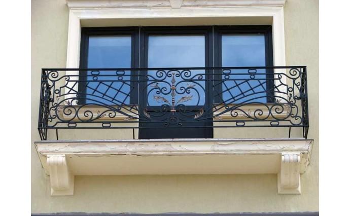 Кованый балкон - Кованый балкон №48