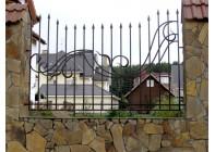 Кованый забор (Арт.: z001)