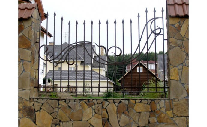 Кованые заборы  - Кованый забор (Арт.: z001)