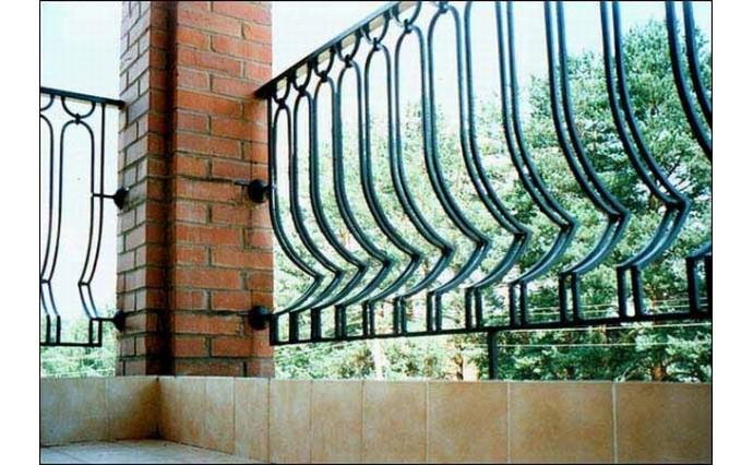 Кованый балкон - Кованый балкон №18
