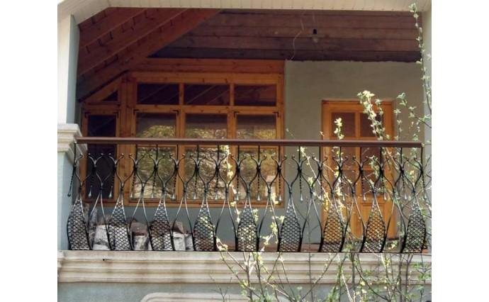 Кованый балкон - Кованый балкон №29