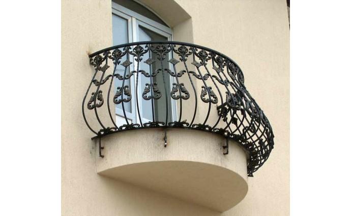 Кованый балкон - Кованый балкон №7