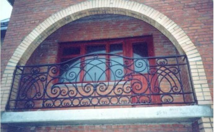 Кованый балкон - Кованый балкон №39