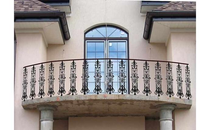 Кованый балкон - Кованый балкон №49