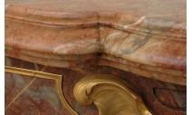 """Камины - Камин """"Графиня де Вентимилья"""" из мрамора с бронзой"""
