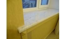 Подоконники из мрамора - Подоконник из мрамора Bianca Carrara