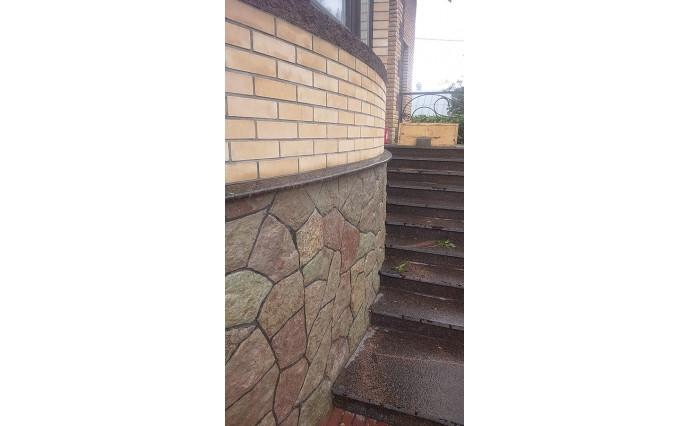 Лестницы  из гранита - Гранитные отливы из Дымовского гранита