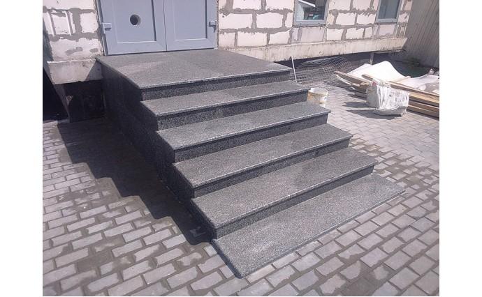 Лестницы  из гранита - Облицовка гранитом месторождения Каменногорское