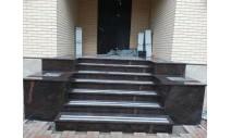 Лестницы  из гранита - Облицовка крыльца гранитом Дымовским