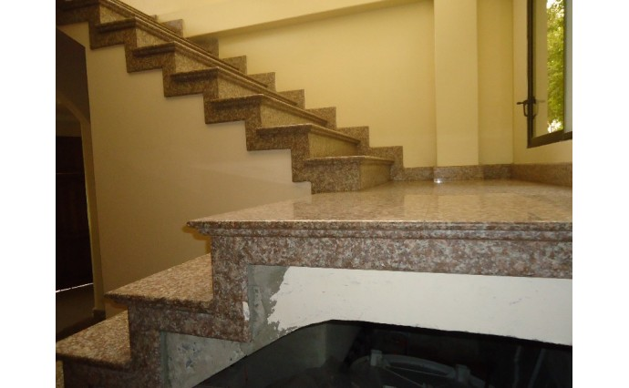 Лестницы  из гранита - Гранитная лестница G664