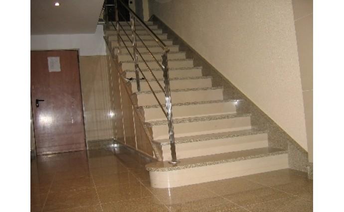 Лестницы  из гранита - Гранитная лестница Мансуровская