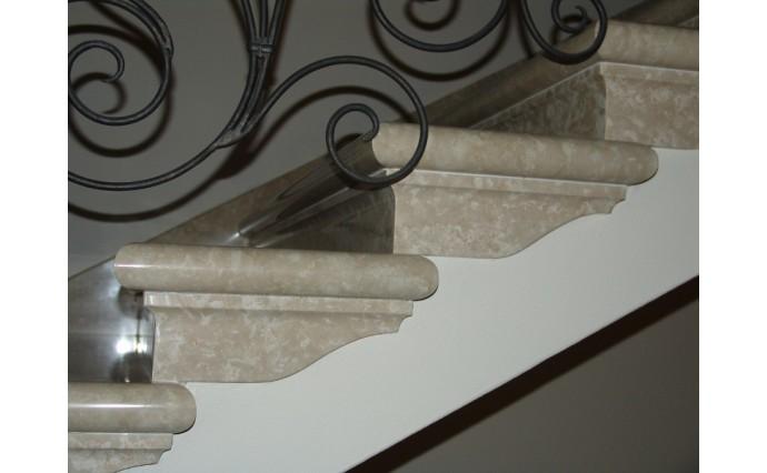 Лестницы из мрамора - Мраморная лестница Bottichino