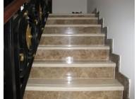 Мраморная лестница Emperador Light II
