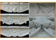 Резные элементы для каминных порталов