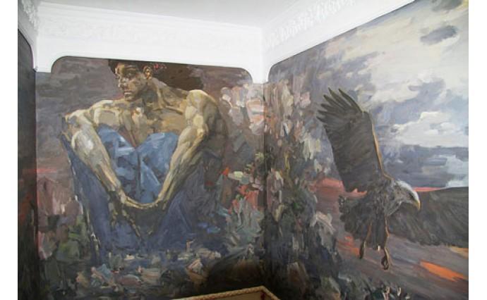 """Элементы декора - Настенная живопись """"Демон"""""""