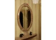 Зеркальное обрамление из мрамора