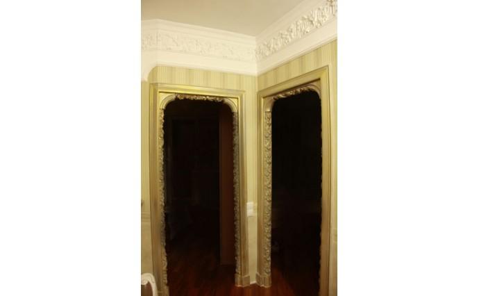 Элементы декора - Дверные проемы с лепным декором