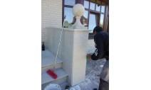 Облицовка мрамором и гранитом - Мраморная наружная облицовка Bottichino