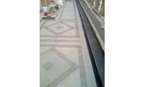 Облицовка мрамором и гранитом - Наружная облицовка балкона с изготовлением гранитного лотка