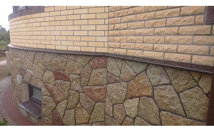 Подоконники из гранита - Гранитные отливы из натурального камня Дымовского месторождения