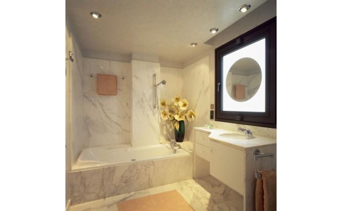 Облицовка мрамором и гранитом - Облицовка стен мрамором Bianco Statuario