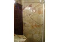 Облицовка ванной комнаты Ониксом