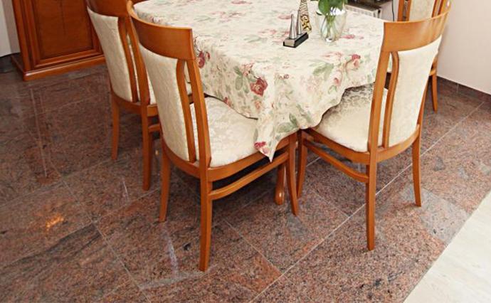 Гранитные полы - Гранитный пол для столовой