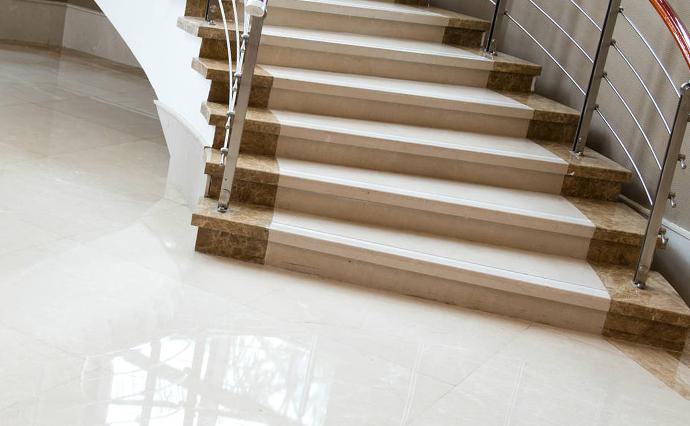 Мраморные полы - Пол и лестница из мрамора
