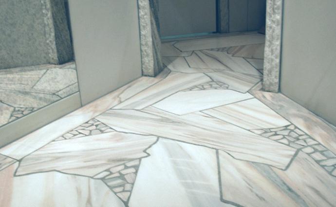 Мраморные полы - Мозаика на мраморном полу