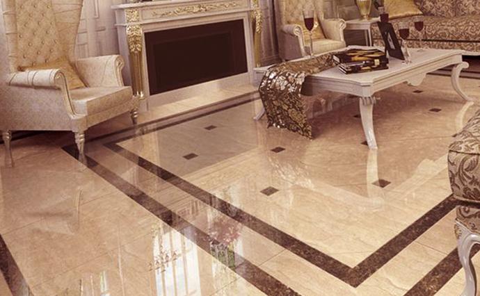 Мраморные полы - Мраморный пол в викторианском стиле