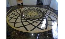 Облицовка мрамором и гранитом - Мраморный мозаичный пол