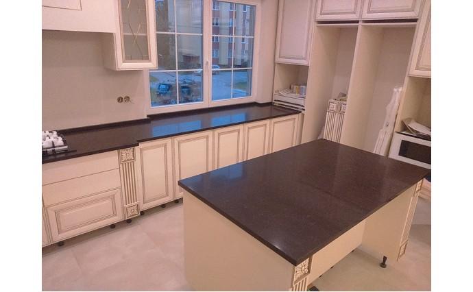 Столешницы из гранита - Кухонная столешница из Кварцевого агломерата CesarStone