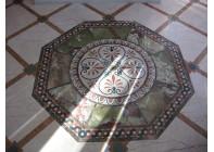 Розетка из природного камня Мрамора и Оникса