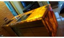 Столешницы из оникса - Кухонная столешница из Оникса с подсветкой